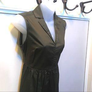Liz Claiborne olive dress